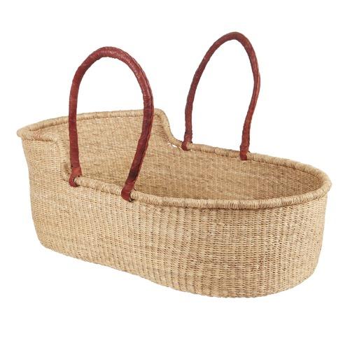 meilleur site web f713d 0511a Natural Fairtrade Moses Baby Basket
