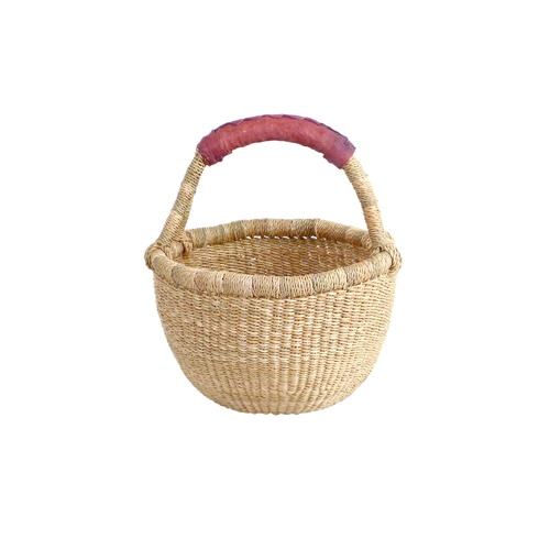 Collective Sol Fairtrade Natural Mini Children's Grass Basket