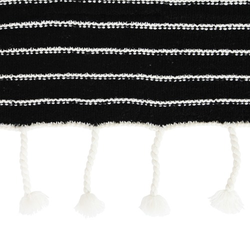 Collective Sol Luxe Striped Tassel Throw