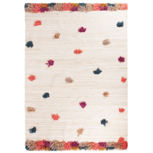 Collective Sol Extra Large Multi Coloured Bowie Pom Pom Rug