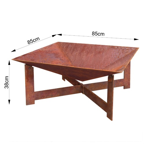 Collective Sol Extra Large Natural Rust Tanami Fire Pit