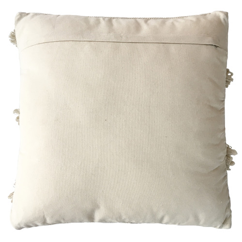 Collective Sol Cream Willow Square Cotton Cushion