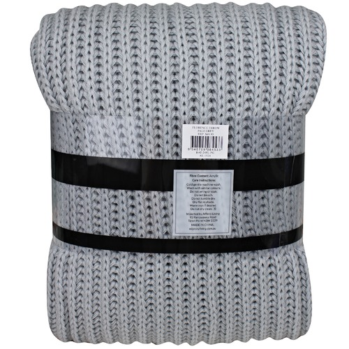 Odyssey Living Florence Knitted Throw