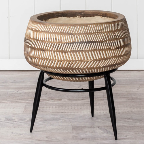 Sunday Homewares Hiute Planter with Stand