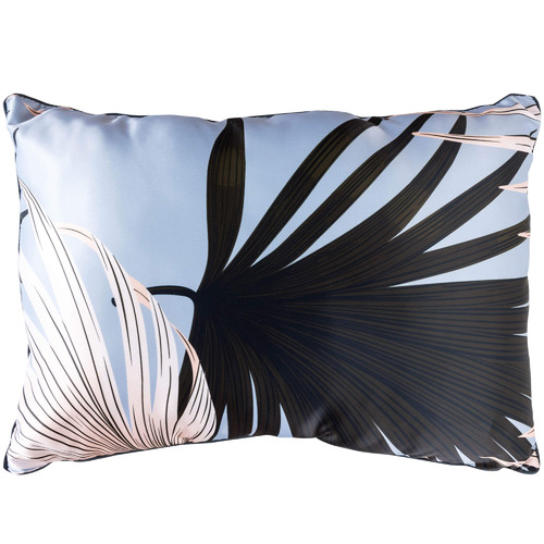 Sunday Homewares Blue Tropical Hui Rectangular Cotton Cushion