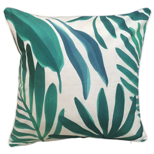 Sunday Homewares Tropical Leaves Outdoor Cushion