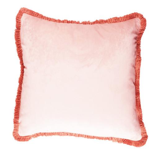 Sunday Homewares Fringed Ovela Velvet Cushion