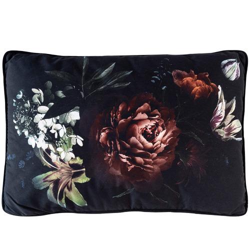 Sunday Homewares Burgundy Bloom Cotton Cushion