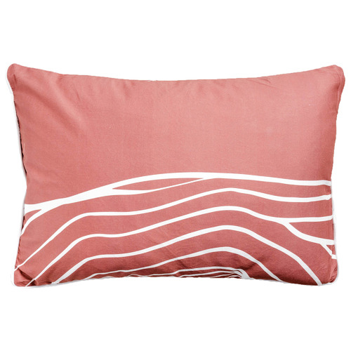 Sunday Homewares Uluru Lines Artist Lab Cotton Cushion