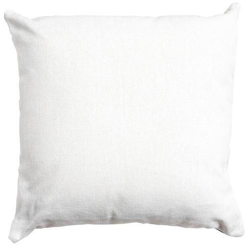 Sunday Homewares White Tropical Plains Cotton & Jute Cushion