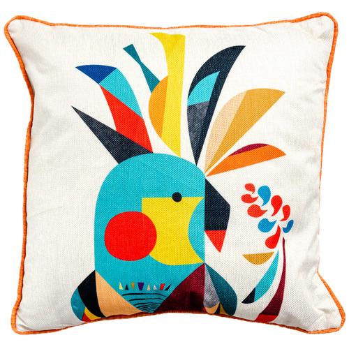 Sunday Homewares Cockatoo Artist Lab Cotton-Blend Cushion