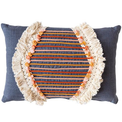 Sunday Homewares Fringed Naina Cotton Cushion