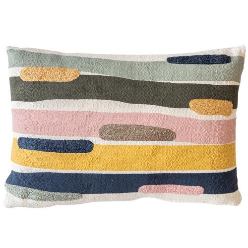 Sunday Homewares Appliquéd Abeer Cotton Cushion