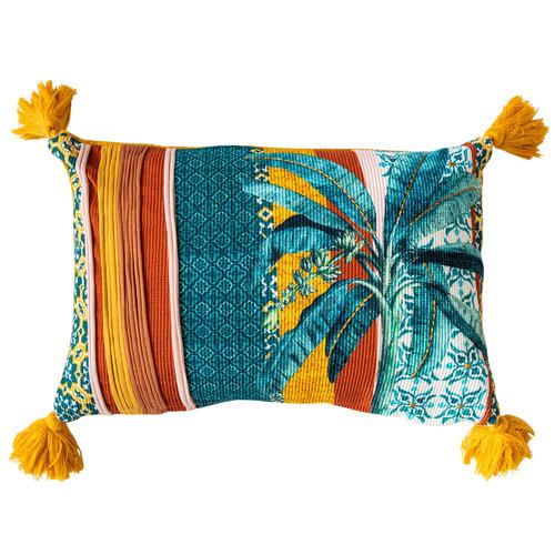 Sunday Homewares Tasselled Anay Cotton Cushion