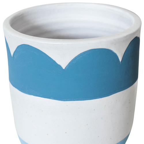 Sunday Homewares Wave Matisse Terracotta Pot Planter
