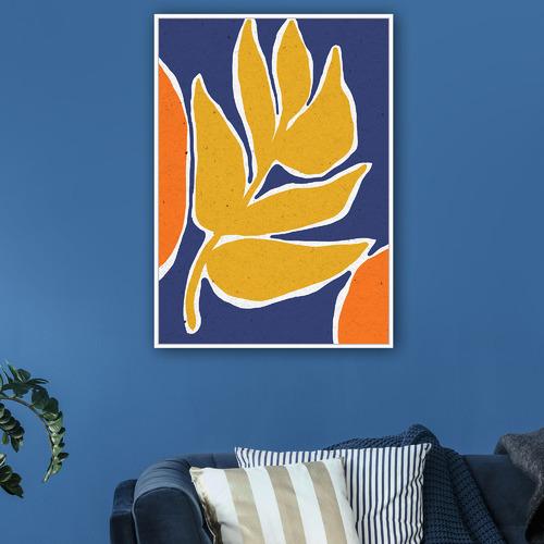 Sunday Homewares Bright Collage II Framed Canvas Wall Art