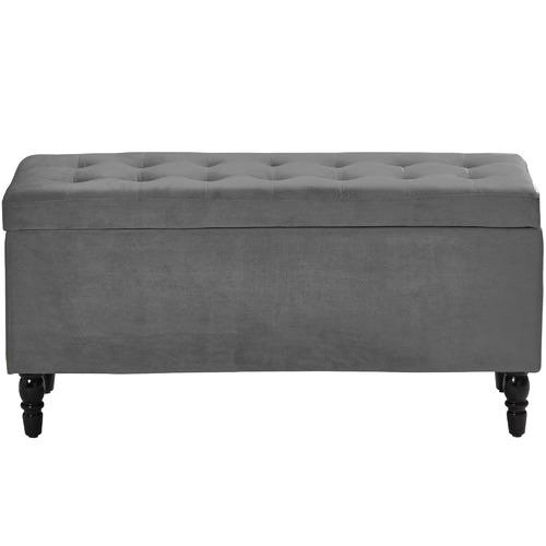 Radisson Home Velvet Luxe Bed Bench Ottoman
