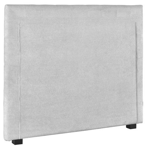 Radisson Home Light Grey Paddington Upholstered Bedhead