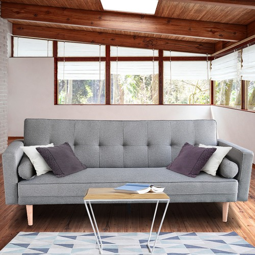 KHome Collection Hailey 3 Seater Sofa Bed
