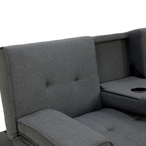 KHome Collection Rochester Fabric Sofa Bed