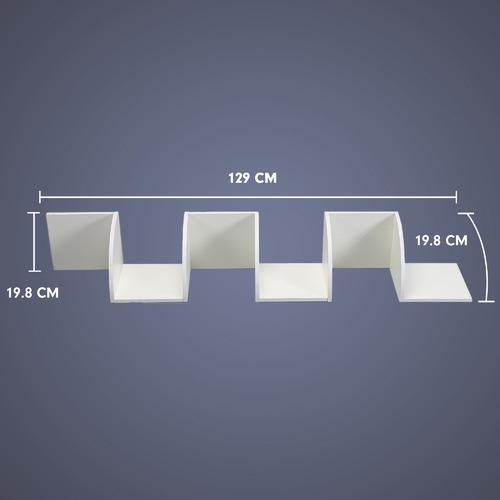 KHome Collection Zambose 5 Tier Corner Wall Shelf