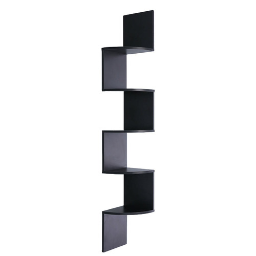 KHome Collection Zambose 5 Tier Corner Wall Shelf