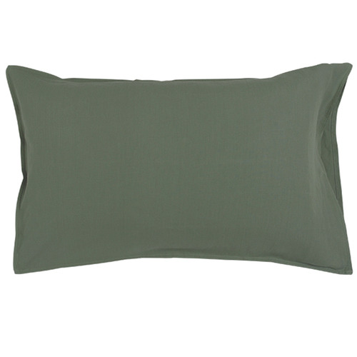 In the Sac Cactus Linen Standard Pillowcases