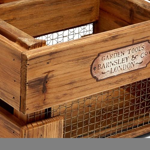 Artisan Homewares 2 Piece Vintage Style Nesting Crates Set