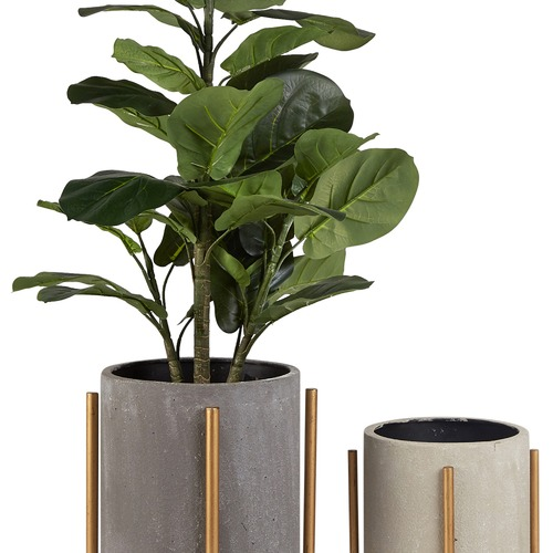 Artisan Homewares 2 Piece Nordic Pot Planters Set