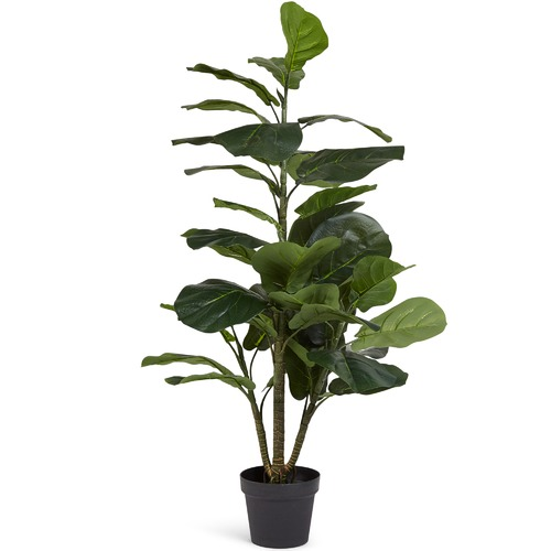 High ST. Faux Potted Fiddle Leaf Fig Tree