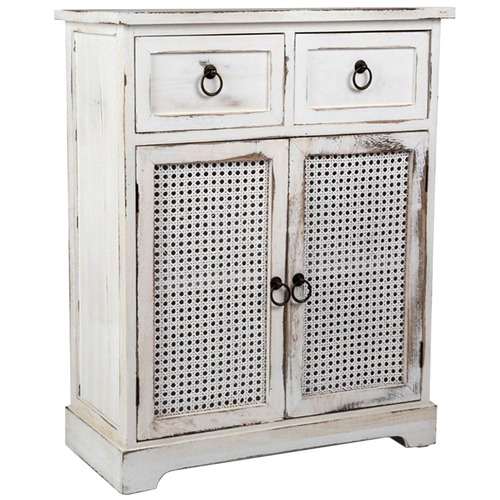 High ST. Lorette French Chic 2 Door Cabinet