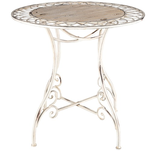 High ST. Distressed Martinique Iron Table