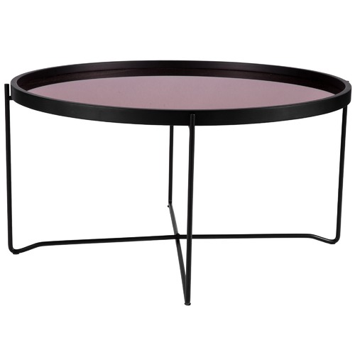 Round Rosa Mirror Coffee Table