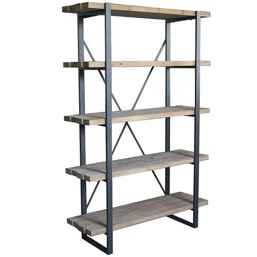High ST. 5 Tier New Emporium Shelf Stand with Metal Frame
