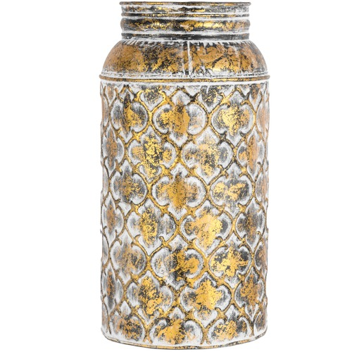High ST. Chic Lustre Quatrefoil Vase