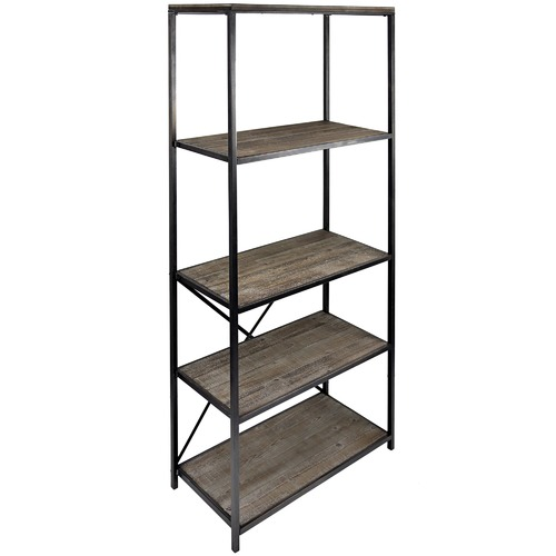 High ST. 5 Tier Capri Panelled Shelf Stand