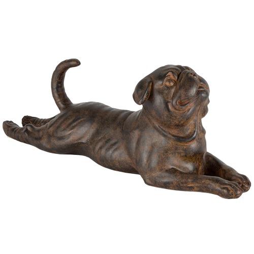 High ST. Stretching Pug Decor