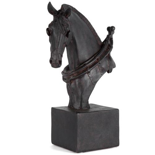 High ST. Horse Bust on Base