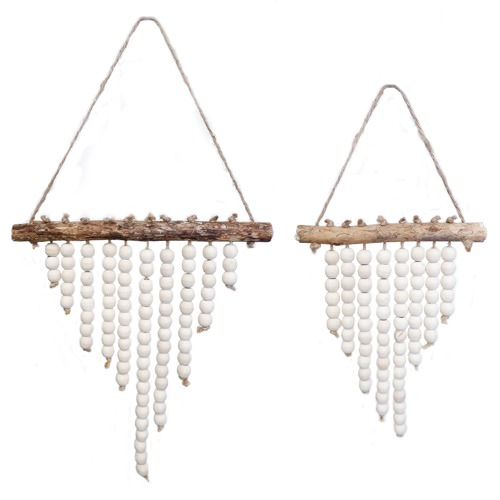 High ST. Nested Aged Wood Wall Hangings