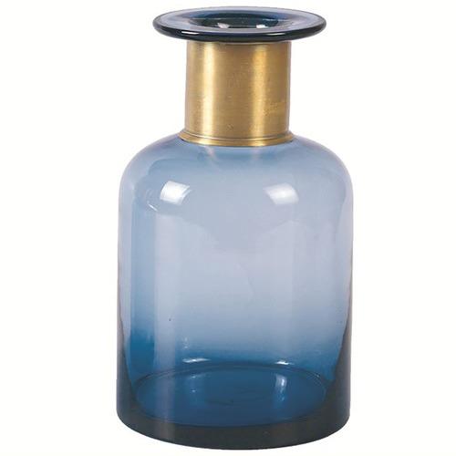 High ST. Ocean Blue Vase
