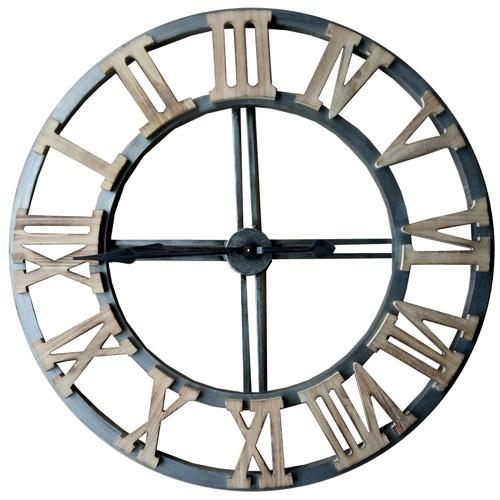 High ST. 2XL Floating Industro Hampton Roman Numeral Wall Clock