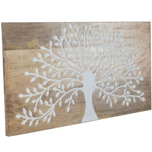 High ST. Tree Of Life Mango Wood Wall Decor