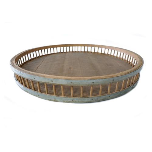 High ST. Avante Iron & Bamboo Tray