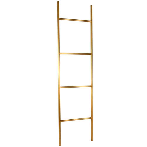 High ST. Gold Aura Decorative Metal Ladder