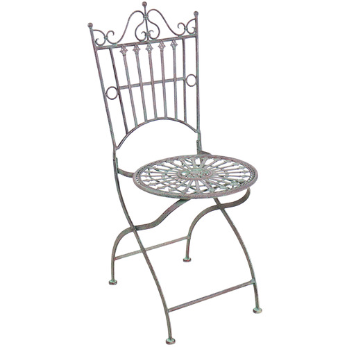 High ST. Provence Outdoor Metal Chairs