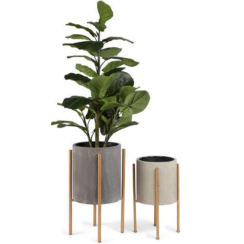 High ST. 2 Piece Nordic Pot Planters Set