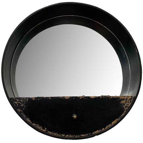 High ST. Chateau Wall Mirror with Shelf
