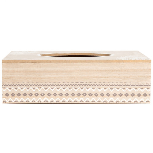 High ST. Natural Mandala Tissue Box