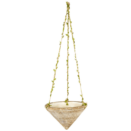 High ST. Earth Cone Hanging Planter