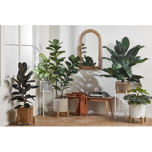 High ST. 70cm Faux Potted Monstera Plant
